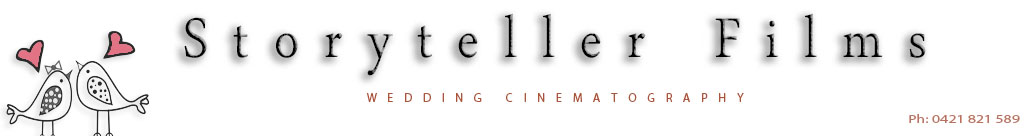 Storyteller Films | Wedding videography Brisbane, Gold Coast  & Sunshine Coast. logo