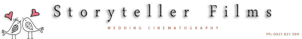 Storyteller Films | Wedding videography Brisbane, Gold Coast  & Sunshine Coast. logo